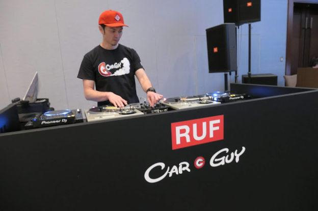DJ YASU,DJ-Y∀SU,イベント,RUF,CARGUY,カーガイ,ルーフ, ル・マン24
